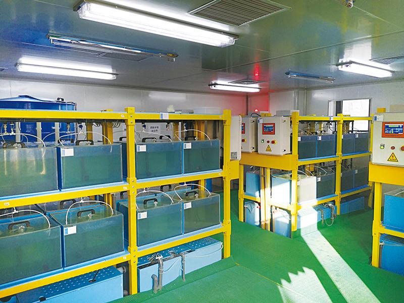 山东大学 - 对虾实验室养殖系统